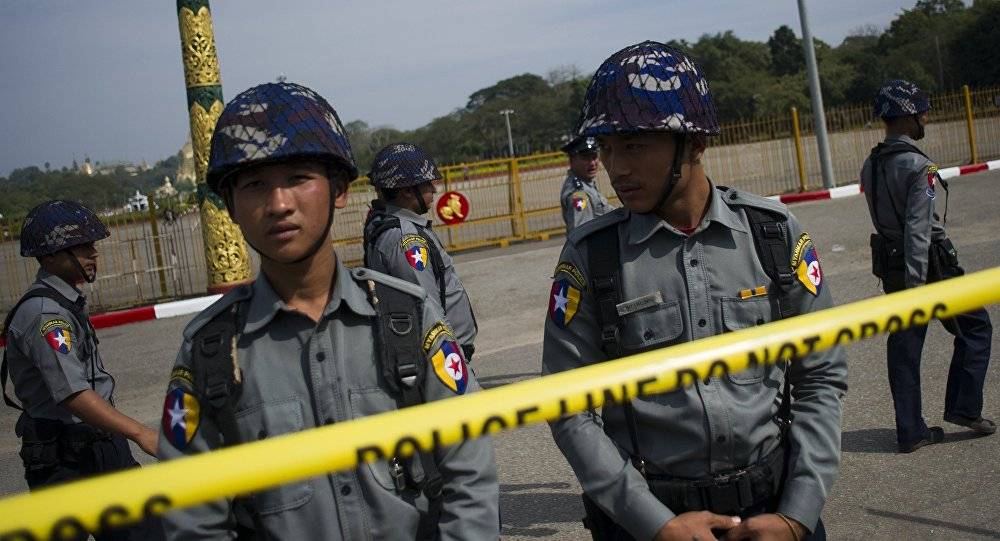 policia tailandia
