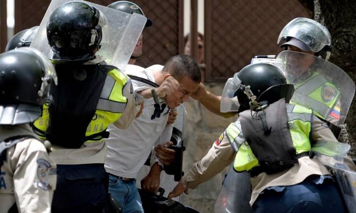 venezuela-confrontos
