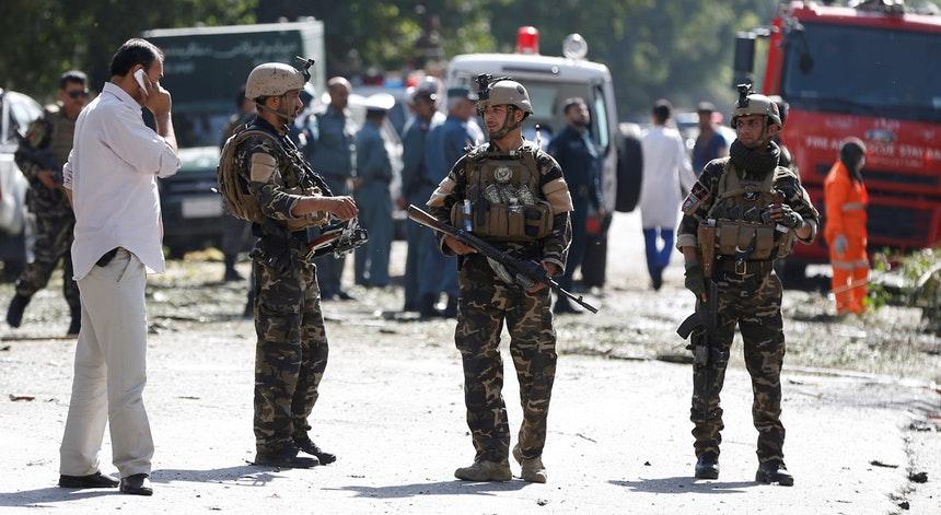 Atentado em Cabul deixa pelo menos 35 mortos