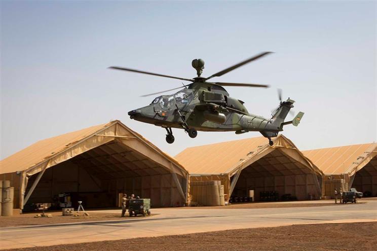 helicoptero alemao mali