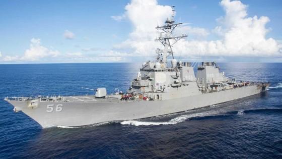 Destróier dos EUA e petroleiro batem no mar; 10 desaparecidos