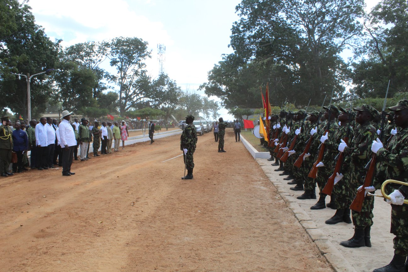 Militares na província de Cabo Delgado