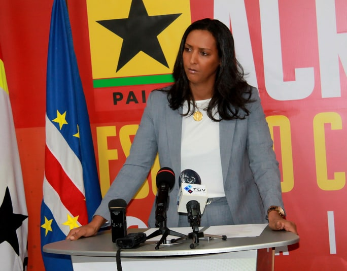 Líder do PAICV, Janira Hopffer Almada