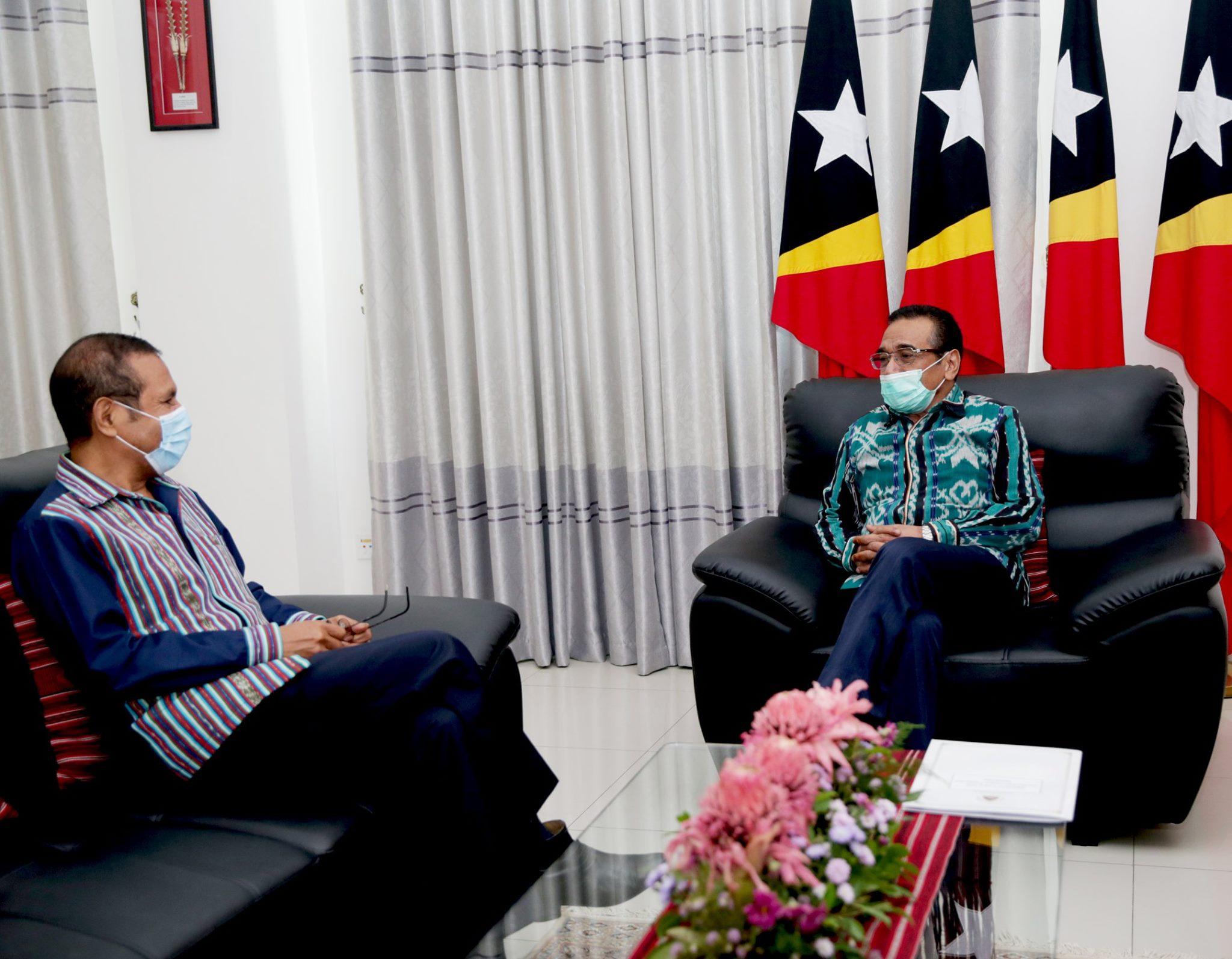 Francisco Guterres Lu-Olo com Taur Matan Ruak