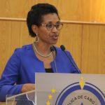 Líder da bancada parlamentar do MpD, Joana Rosa
