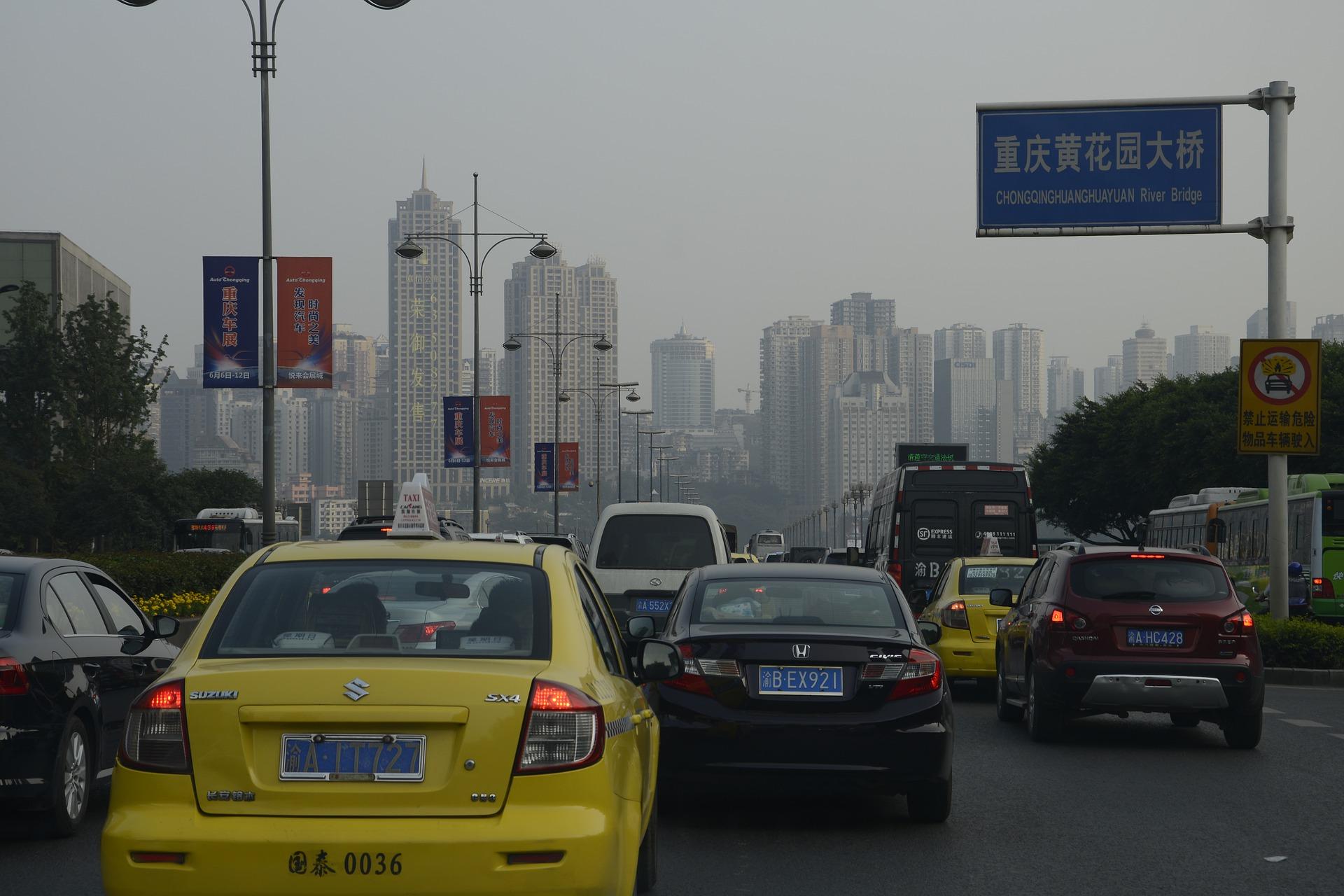 china; poluição