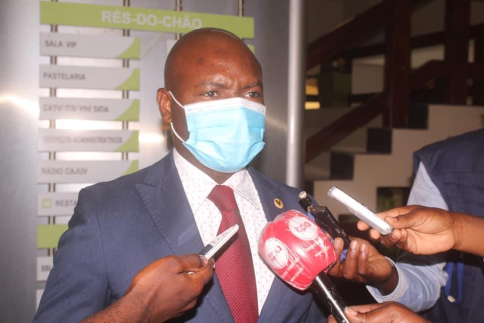 Líder da JURA, Agostinho Kamuango