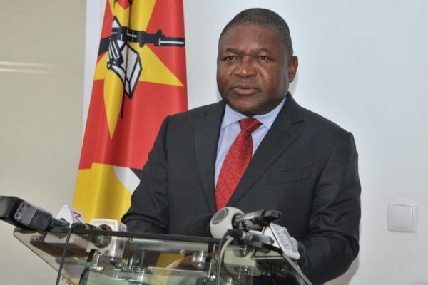 Filipe Nyusi PR Moçambique