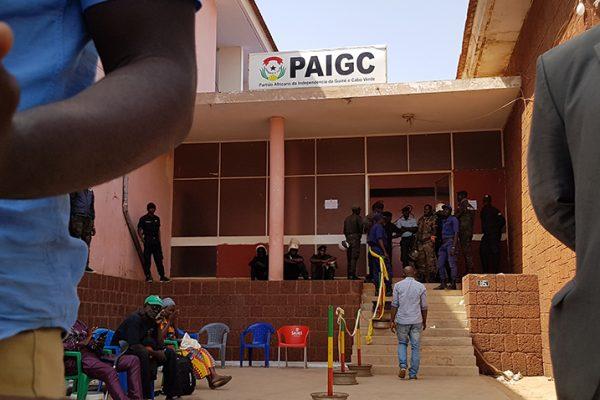 Guiné-Bissau sede PAIGC