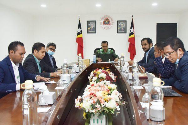 Membros do Governo de Timor-Leste
