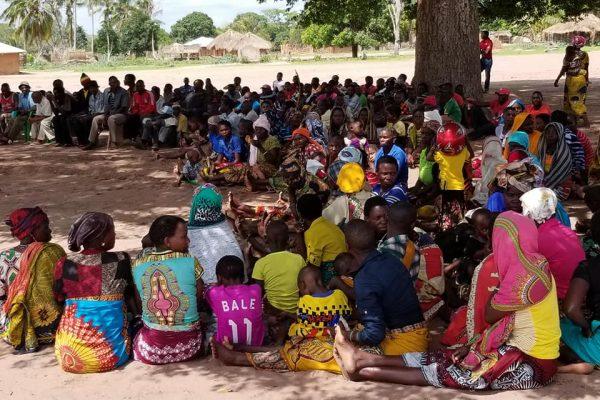 Habitantes de Cabo Delgado Moçambique