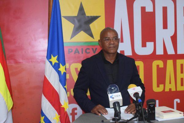 Vice-presidente do PAICV, João Baptista Pereira