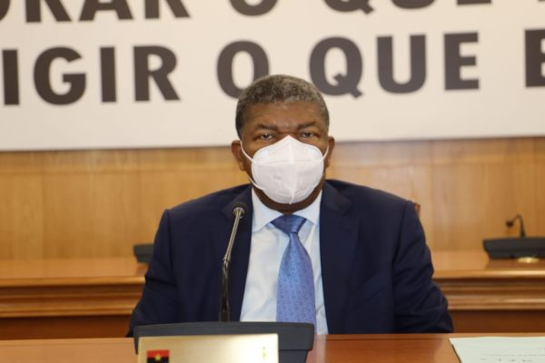Líder do MPLA e Presidente de Angola, João Lourenço