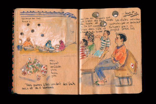 M'Bera école pour la net, Mauritânia