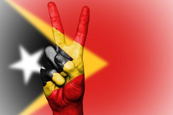 Timor-Leste bandeira
