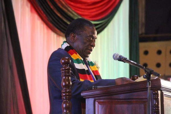 Presidente do Zimbabwe, Emmerson Mnangagwa