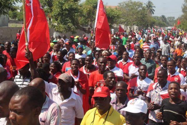 apoiantes da Frelimo Moçambique