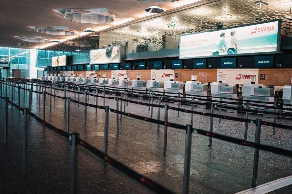 aeroporto, Control, Passageiros