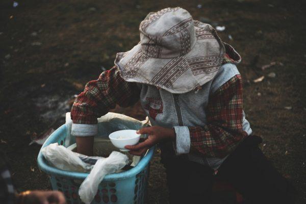 comida, pobreza, pobre, alimentação