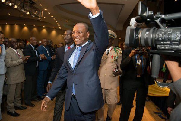 Presidente da República guineense, Alpha Condé