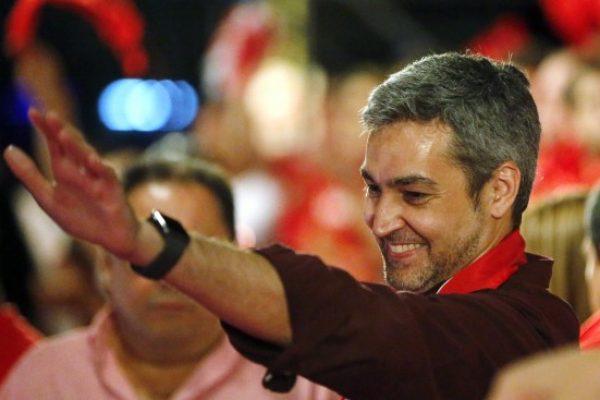 paraguai-Mario Abdo Benítez