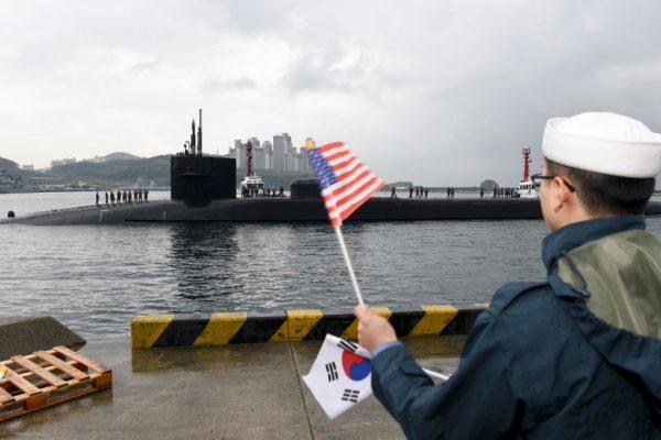 submarino uss michigan