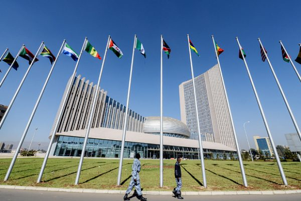 Mandatory Credit: Photo by Xinhua/REX Shutterstock (4388470a) African Union Headquarters African Union Headquarters in Addis Ababa, Ethiopia - 28 Jan 2015 The 24th AU Summit is scheduled to open here on 30th Jan