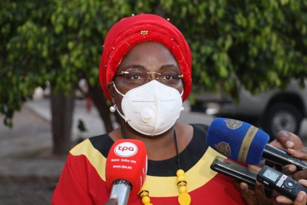 vice-presidente do MPLA, Luísa Damião