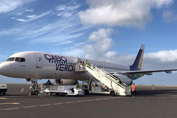 Cabo Verde Airlines recebe terceiro avião