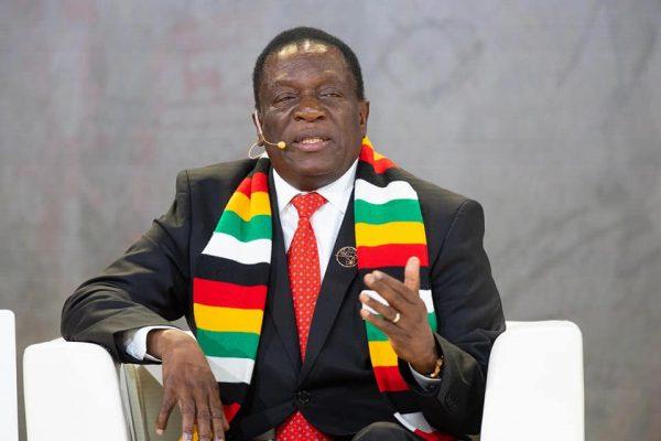 Emmerson Mnangagwa, Presidente do Zimbabwe